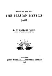 Jámí The Persian Mystics