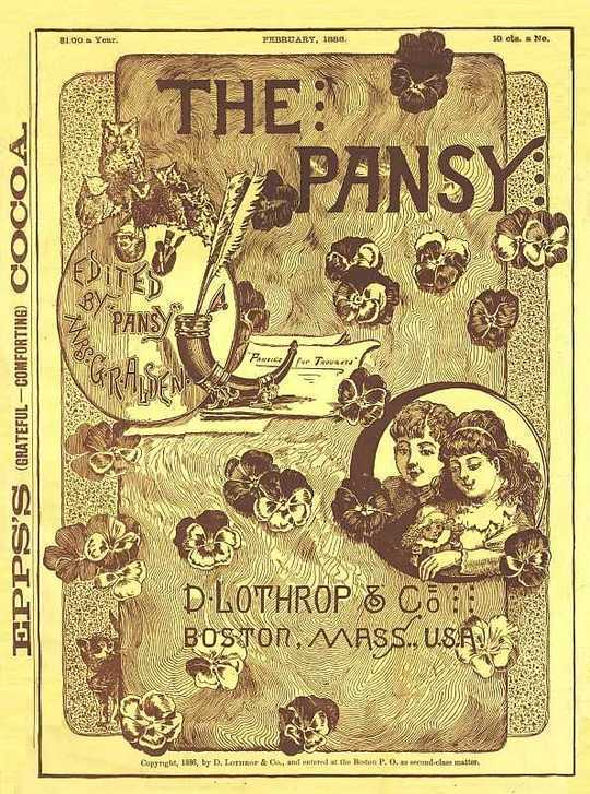 The Pansy Magazine, February 1886