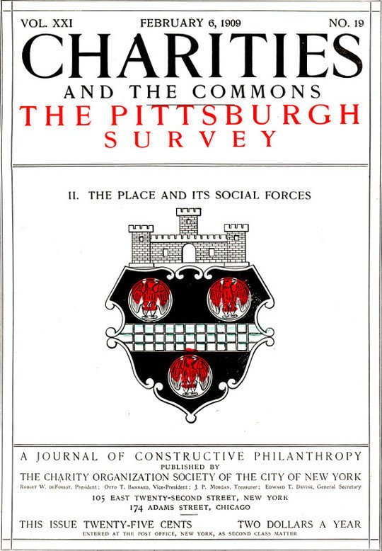 Charities and the Commons: The Pittsburgh Survey, Part II: The Place