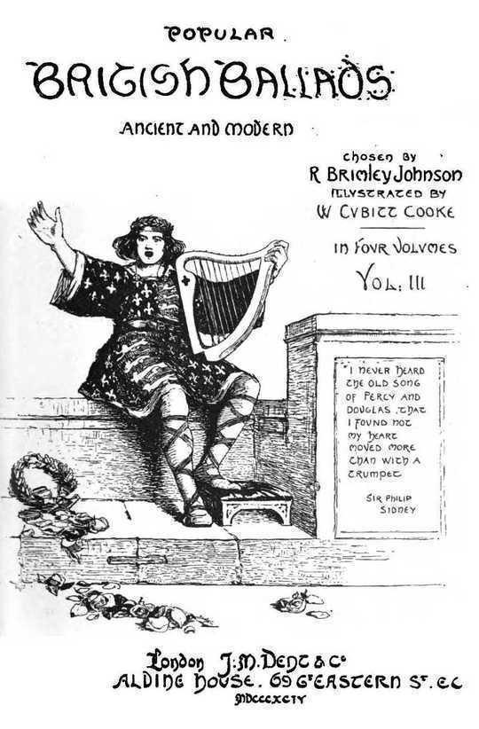 Popular British Ballads, Ancient and Modern, Vol. 3 (of 4)