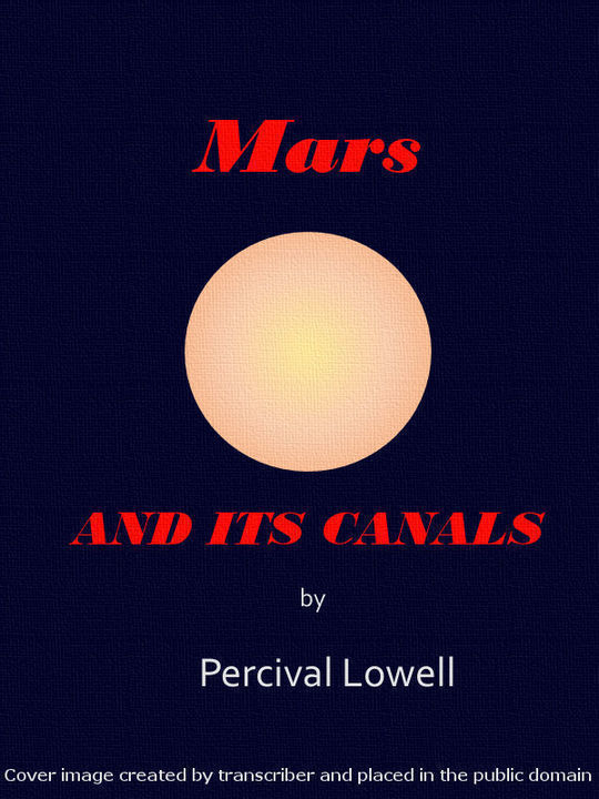 Mars and its Canals