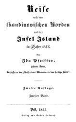 Reise nach dem skandinavischen Norden und der Insel Island im Jahre 1845. Zweiter Band.
