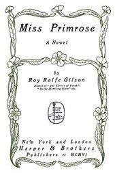 Miss Primrose A Novel