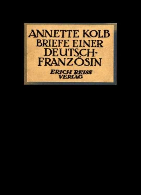 Briefe einer Deutsch-Französin