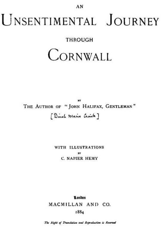 An Unsentimental Journey through Cornwall