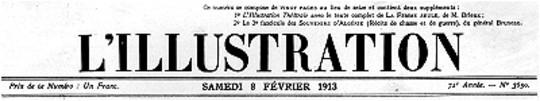 L'Illustration, No. 3650, 8 Février 1913