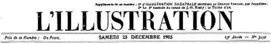 L'Illustration, No. 3278, 23 Décembre 1905