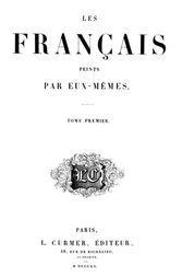 Les français peints par eux-mêmes, tome 1