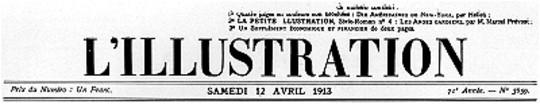 L'Illustration, No. 3659, 12 Avril 1913