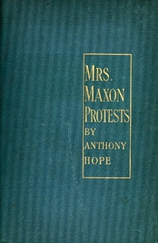 Mrs. Maxon Protests