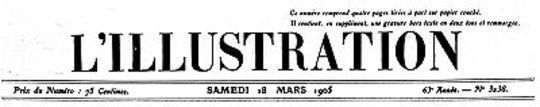 L'Illustration, No. 3238, 18 Mars 1905