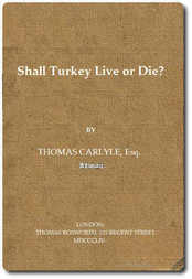Shall Turkey Live or Die?