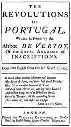 The Revolutions of Portugal