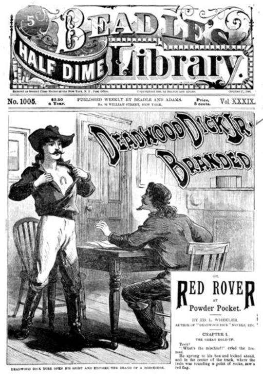 Deadwood Dick Jr. Branded or, Red Rover at Powder Pocket.