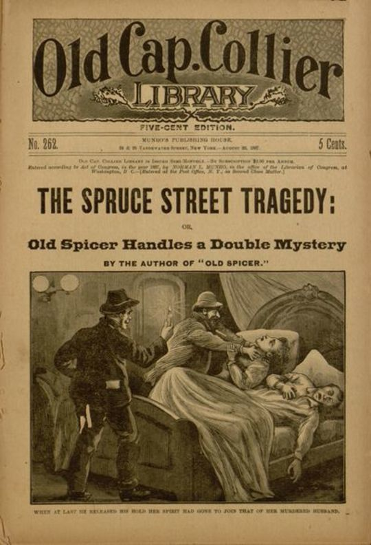 The Spruce Street Tragedy or, Old Spicer Handles a Double Mystery