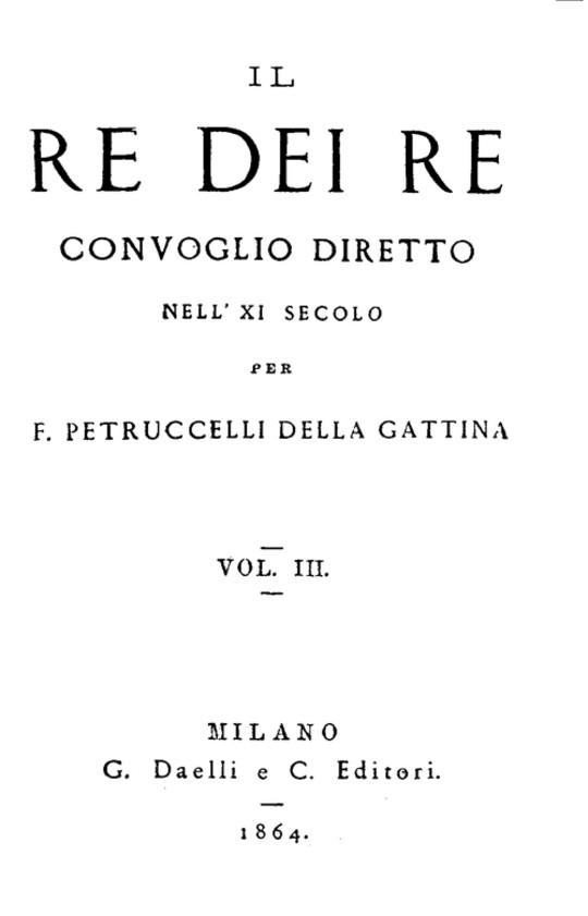 Il re dei re, vol. 3 (di 4) Convoglio diretto nell'XI secolo