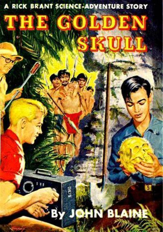 The Golden Skull: A Rick Brant Science-Adventure Story