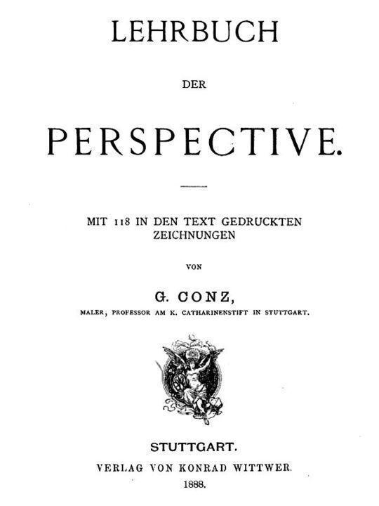 Lehrbuch der Perspective