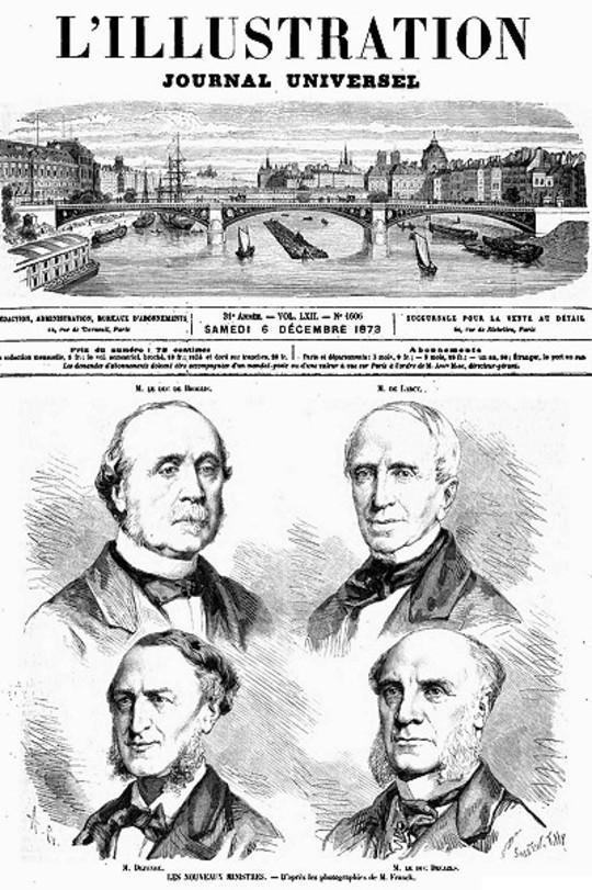 L'Illustration, No. 1606, 6 décembre 1873