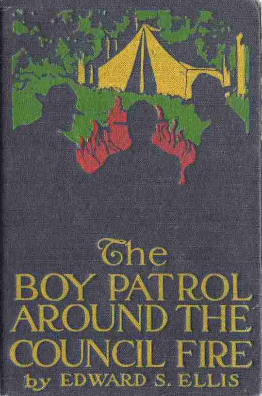 The Boy Patrol Around the Council Fire