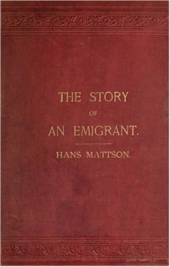 Reminiscences: The Story of an Emigrant