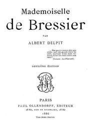 Mademoiselle de Bressier