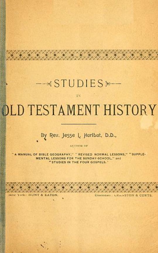 Studies in Old Testament History