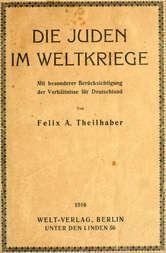 Die Juden Im Weltkriege