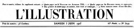 L'Illustration, No. 3249, 3 Juin 1905