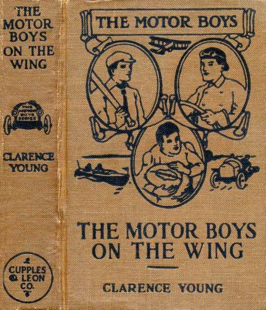 The Motor Boys on the Wing Or, Seeking the Airship Treasure