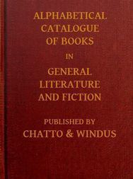 Alphabetical Catalogue of Books in General Literature and Fiction