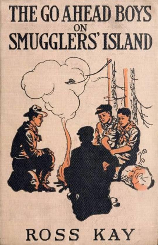 The Go Ahead Boys on Smugglers' Island