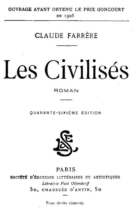 Les civilisés Roman