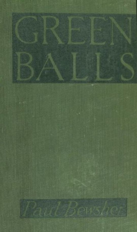 'Green Balls' The Adventures of a Night-Bomber