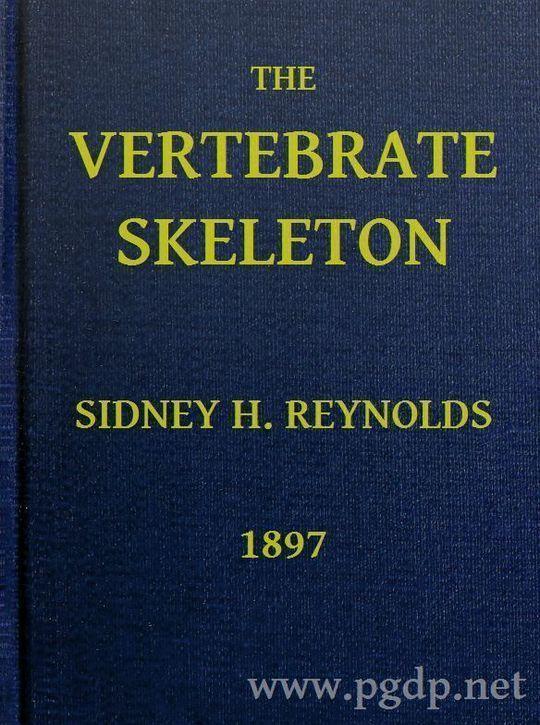 The Vertebrate Skeleton