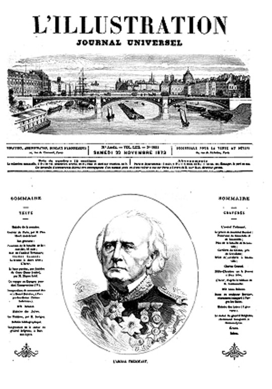L'Illustration, No. 1604, 22 novembre 1873