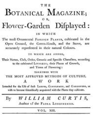 The Botanical Magazine, Vol. 13 Or Flower-Garden Displayed
