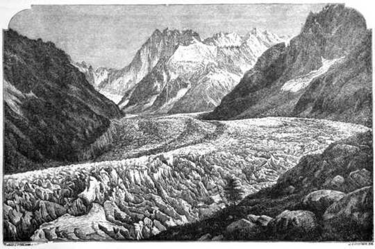 The Glaciers of the Alps Being a narrative of excursions and ascents, an account of the origin and phenomena of glaciers and an exposition of the physical principles to which they are related