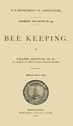 USDOA Farmer's Bulletin, No. 59, Bee Keeping
