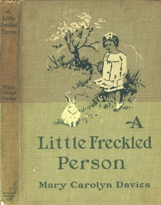 A Little Freckled Person: A Book of Child Verse