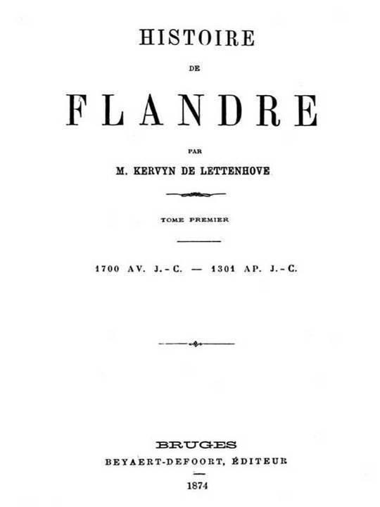 Histoire de Flandre, (T. 1/4)