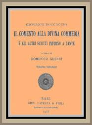 Il Comento alla Divina Commedia, e gli altri scritti intorno a Dante (vol. 2 of 3)