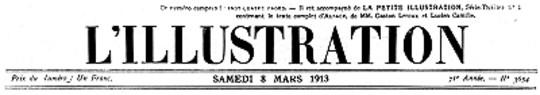 L'Illustration, No. 3654, 8 Mars 1913