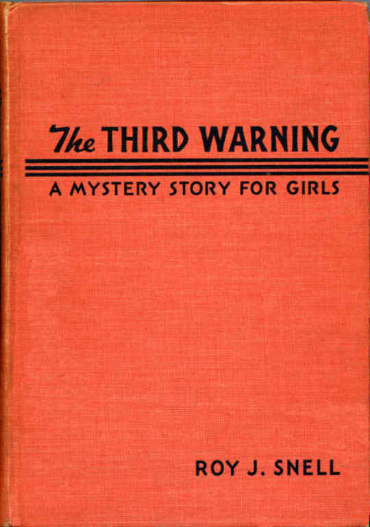 Third Warning A Mystery Story for Girls