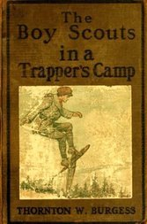 The Boy Scouts in A Trapper's Camp