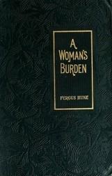 A Woman's Burden: A Novel