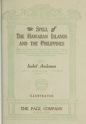 The Spell of the Hawaiian Islands and the Philippines The Spell Series