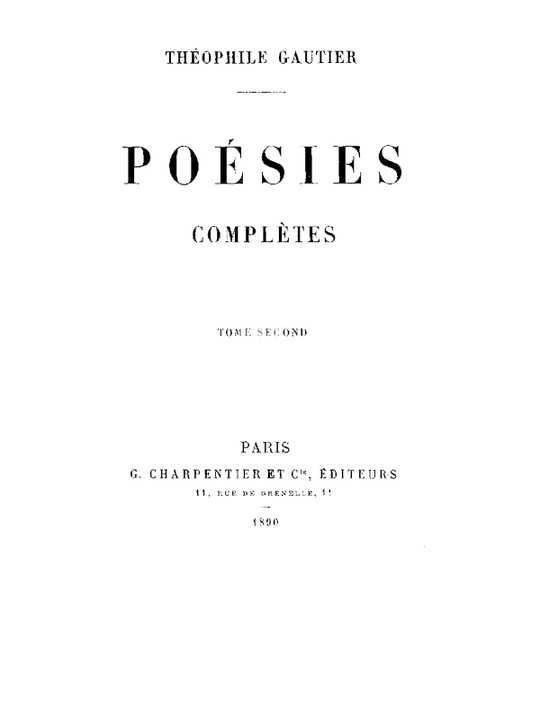 Poésies Complètes - Tome 2