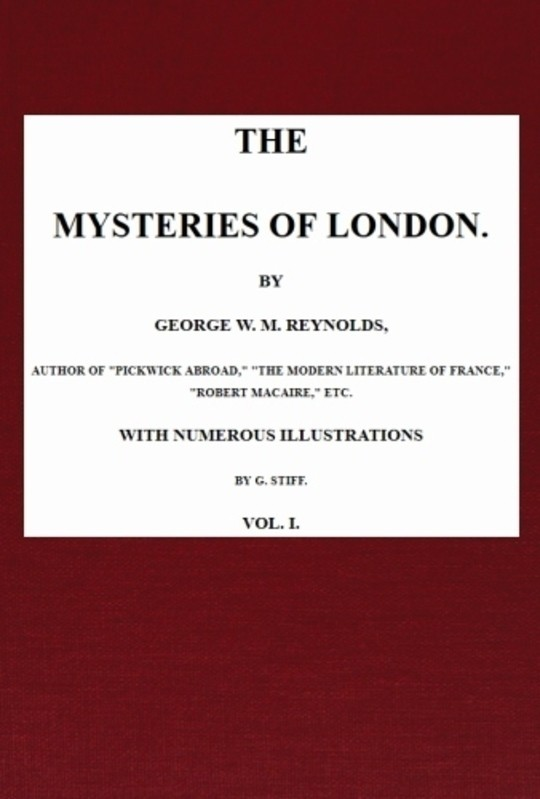 The Mysteries of London, v. 1/4