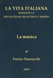 La musica La vita italiana durante la Rivoluzione francese e l'Impero